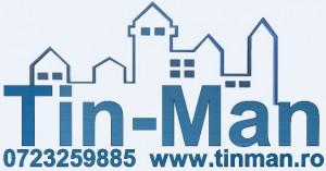 logo tinman cu tel si site